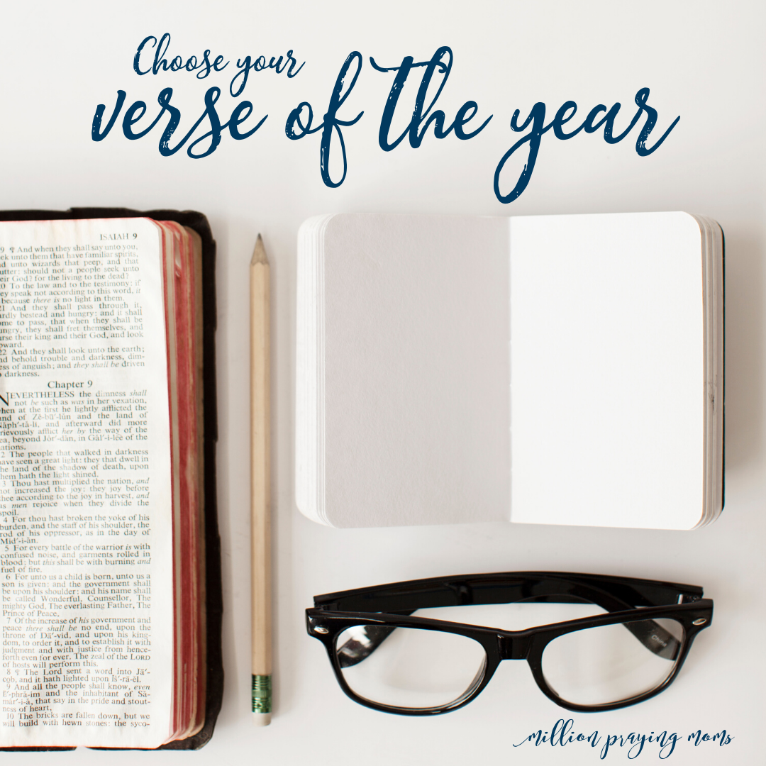 #036: Choosing Your Verse to Pray for 2020