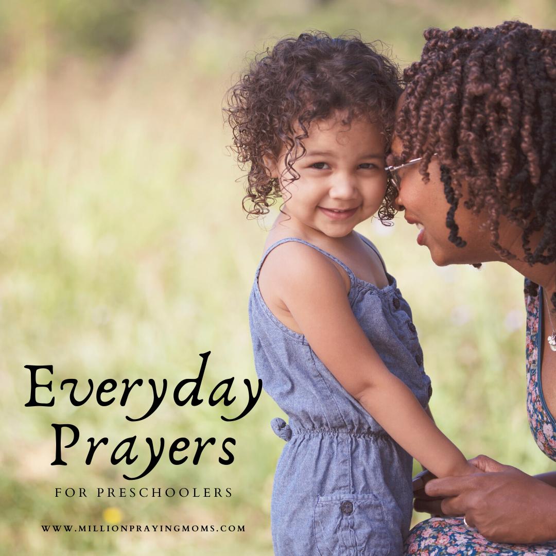 {S9-E2} Everyday Prayers for Preschoolers